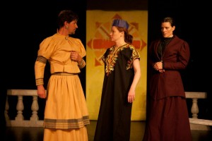 """Eric Mulholland, Danielle Daggerty, Devin Rodger in """"Cloud 9"""""""