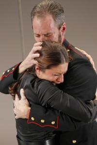 Alexandra Tavares as Masha; Davic Quicksall as Vershinin