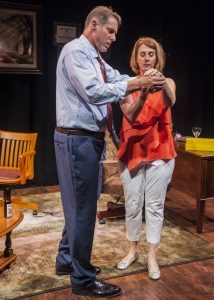 """David Drummond and Nikki Visel in """"The God Game"""""""