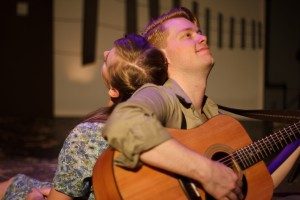 Grace Carmack and Ben Burris  -- Photo: Shane Regan
