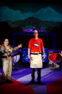 Meghan Newton as Bosun, Matt Howe as Cookie