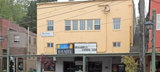 Paradise's new home in downtown Port Orchard, presenting Newsies